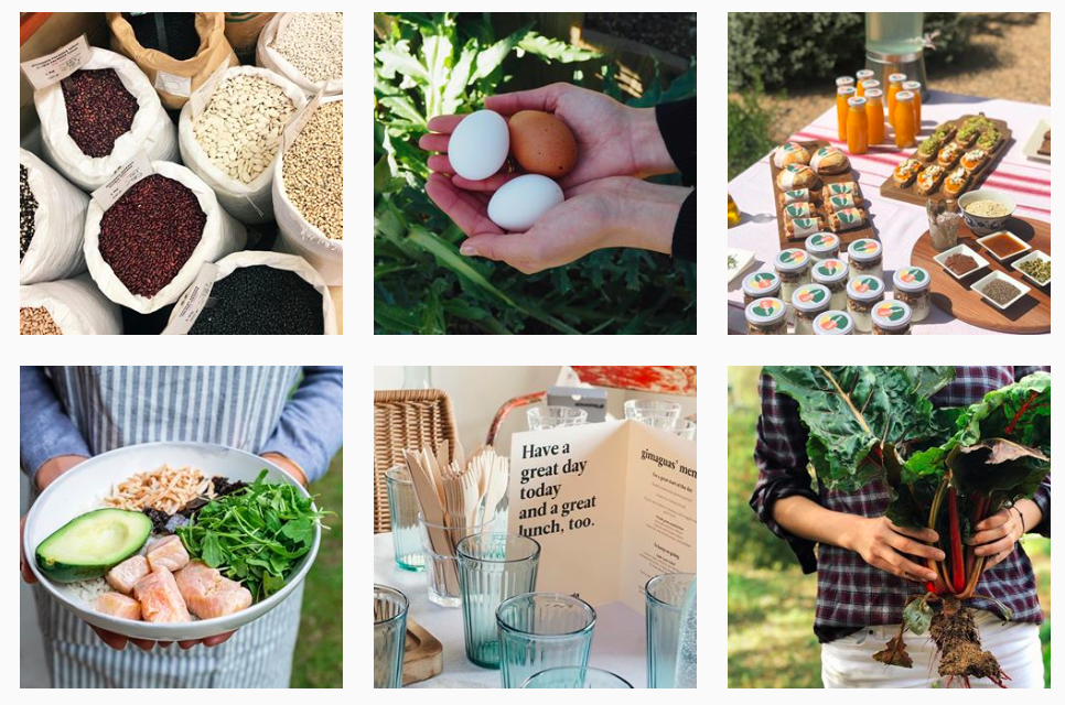 imágenes de feed de Instagram restaurante enlagloria. Promocionar restaurante instagram