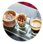 3 tasses de café attirer plus de clients