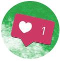 like de Instagram. Promocionar restaurante instagram
