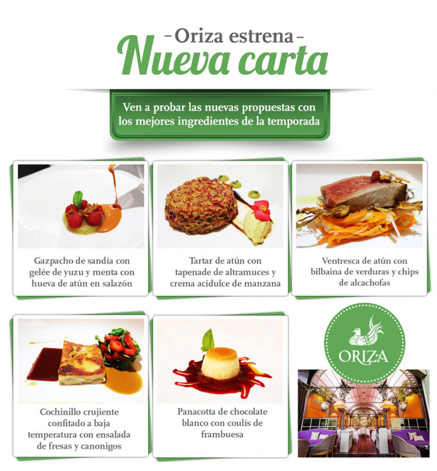 ElTenedor marketing para restaurantes trucos para optimizar el menú - restaurante Oriza