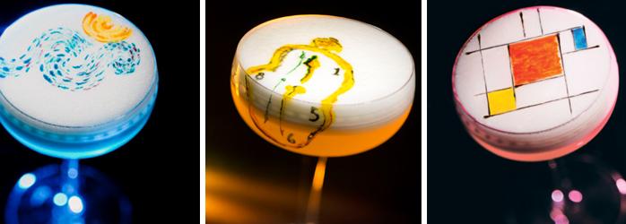 LaFourchette fidélisation client Le propriétaire de l'Artesian Bar à Hong Kong, Rajendra Rush Limbu, a su comment surprendre en créant des cocktail inspirées d'œuvres d'art historiques