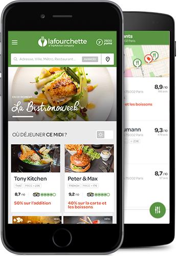 Marketing gratuit pour votre restaurant app