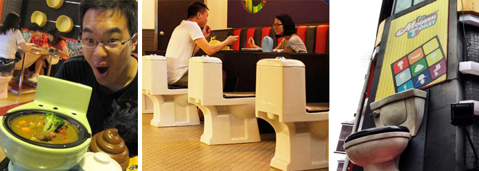 TheFork restaurantmarketing - Modern Toilet restaurant
