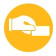 thefork- gestione ristorante - icona grafica pagare il conto del ristorante