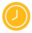 thefork- gestione ristorante - grafico icona dell'orologio
