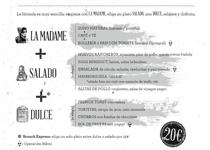 ElTenedor - Atraer clientes al restaurante ofreciendo un Brunch - Restaurante La Madame