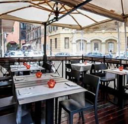 El Tenedor abrir una terraza restaurante Art Cibó Café