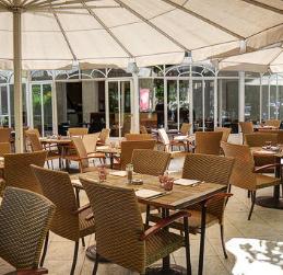 El Tenedor montar una terraza para tu restaurante Pavillon Elysee Cafe Lenotre