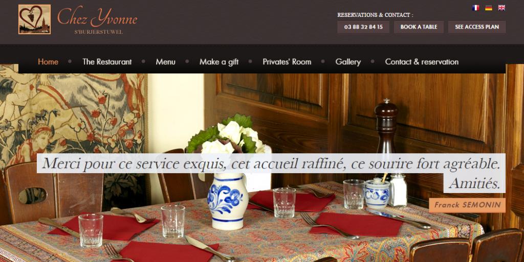 Básicos del marketing para restaurantes Chez Yvonne