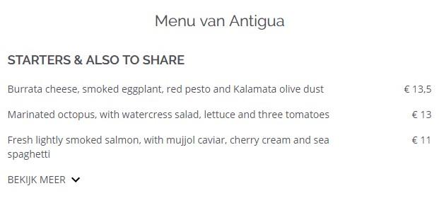 Iens TheFork Het menu als hulpmiddel bij restaurantmarketing