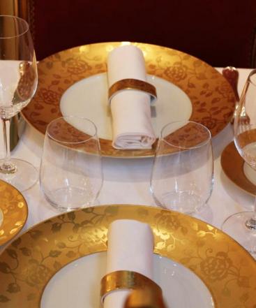 La Fourchette gestion restaurant: vaisselle du Le Bien Aimé restaurant