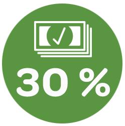 Logiciel de gestion de restaurant: image graphique. Augmentation de 30% du chiffre d'affaire avec doublez les tables. LaFourchette