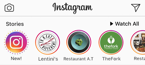 LaFourchette TheFork 7 façons d'utiliser les Instagram Stories en marketing pour restaurants