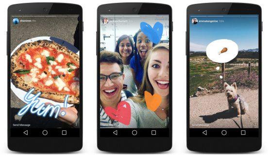 laforuchette - Vidéos live de marketing pour restaurants -Instagram Stories