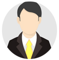 uitvoerende man pictogram Segmenteer uw klanten