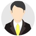 icône de l'homme exécutif segmentez vos clients