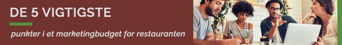 TheFork De 5 vigtigste punkter i et marketingbudget for restauranten