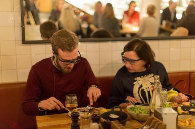 TheFork gestion de restaurants: expérience de eyetracking avec les clients du restaurant