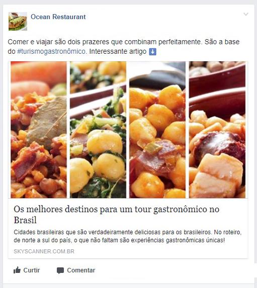 TheFork Erros no perfil de Facebook do restaurante - Atrair Clientes
