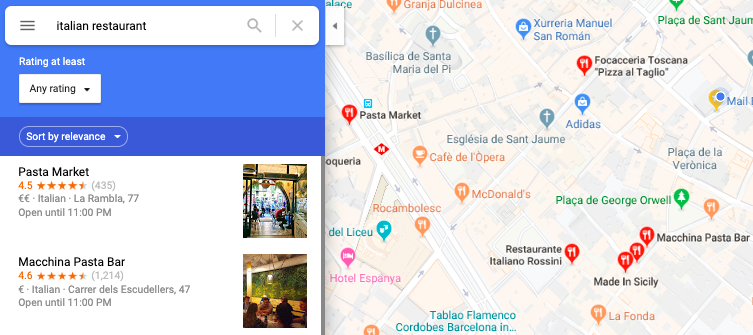 TheFork How to add a restaurant to Google Maps