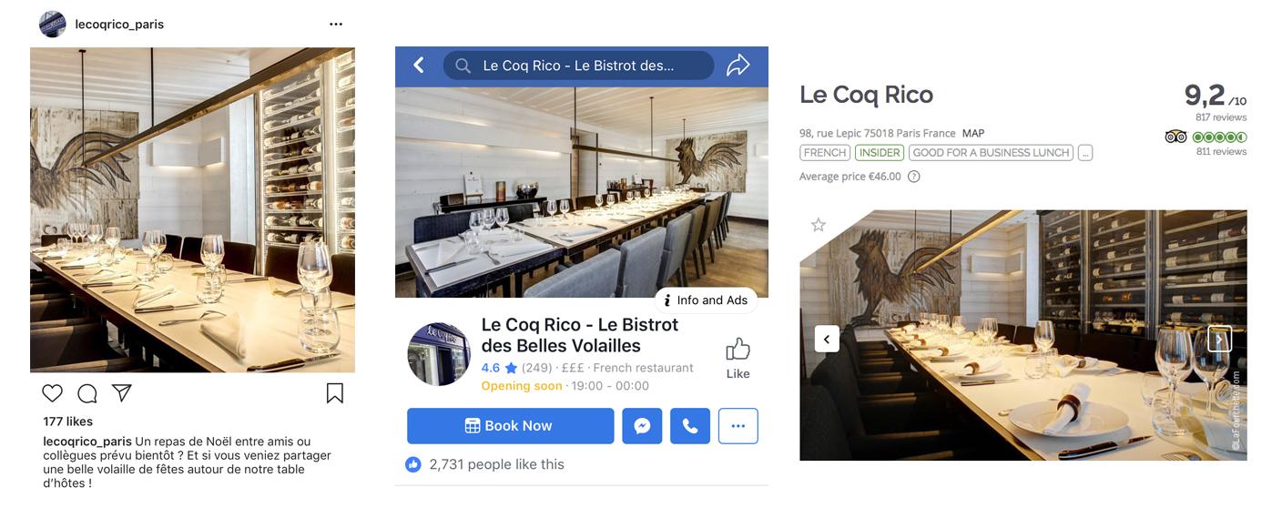 LaFourchette - TheFork - Les secrets d'une bonne image numérique des restaurants