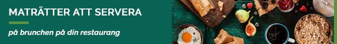 TheFork - kundlojalitet - Maträtter att servera på brunchen på din restaurang