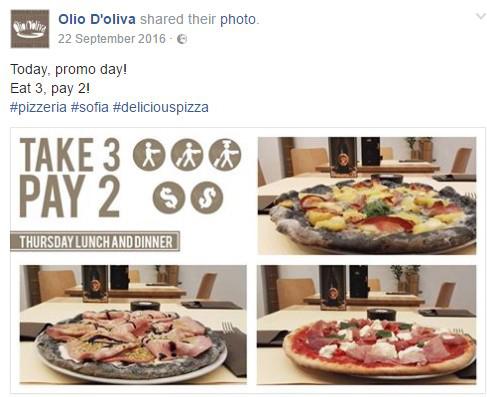 TheFork Pubblicitá per ristoranti per facebook