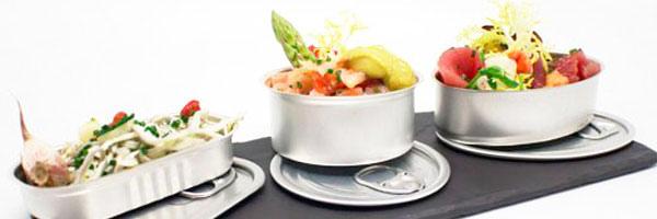 TheFork Tendências gastronômicas: Potinhos, conserva enlatada e finger food